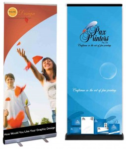 Pull up banners and banner stands in Dandenong
