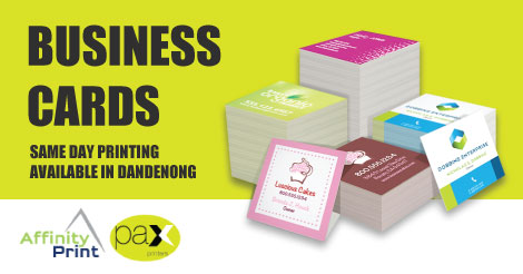 Same day business cards printing service dandenong inside melbourne reheart Choice Image