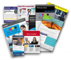 Pamphlets, Leaflets, Flyers printing Dandenong from Pax Printers in Melbourne
